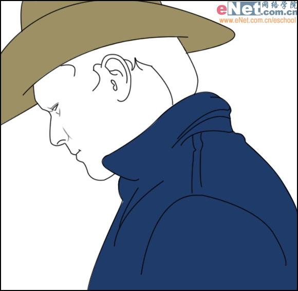 士t恤和帽子矢量图